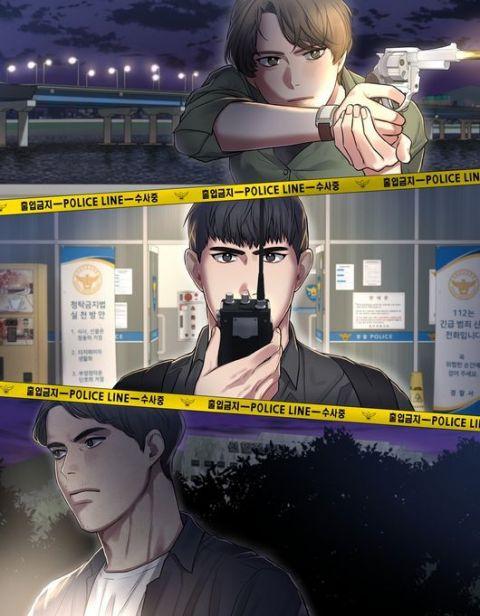 神剧《Signal信号》制作成网路漫画开始连载!李帝勋、金惠秀、赵震雄等3位主角形象公开~