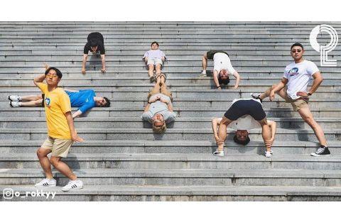 团体照人太多怎么拍? 8个大男孩教你拍出超有梗的出游照 - KSD 韩星网 -117649-745128