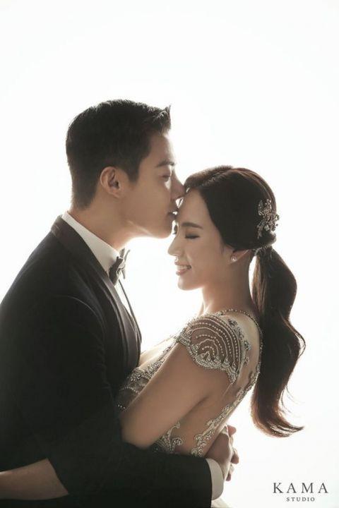超美!康男♥李相花婚纱照公开:本周六举办婚礼