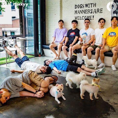 团体照人太多怎么拍? 8个大男孩教你拍出超有梗的出游照 - KSD 韩星网 -117649-745121