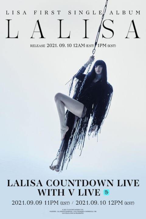 倒数六天就要回归啦!BLACKPINK Lisa 将登上美国节目《吉米A咖秀》公开solo舞台