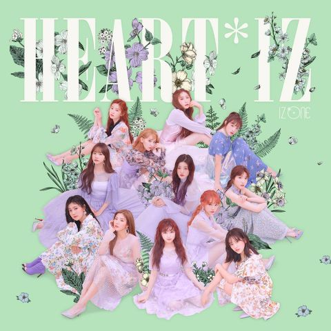 恭喜! IZ*ONE《HEART*IZ》刷新韩国女团专辑初版销量纪录