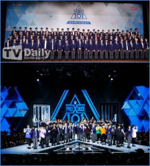 《Produce X 101》接连刷新话题性纪录 练习生列队占领榜单! - KSD 韩星网 -116694-734905