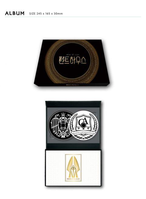 SBS 公开《The Penthouse》OST专辑配置图!跟爱豆专辑一样,小卡还是随机 XD