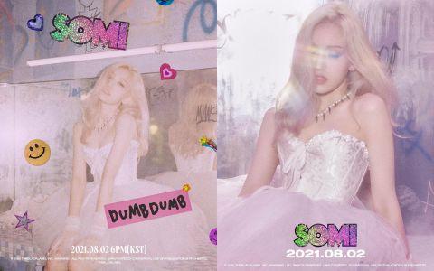 美式校园风真的超级适合全昭弥!SOMI 公开新歌《DUMB DUMB》预告,化身青春电影偶像