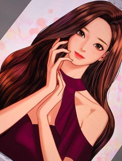 韩国人气网漫《女神降临》的正妹作者宣布休刊!身体健康亮红灯 - KSD 韩星网 -117055-738721