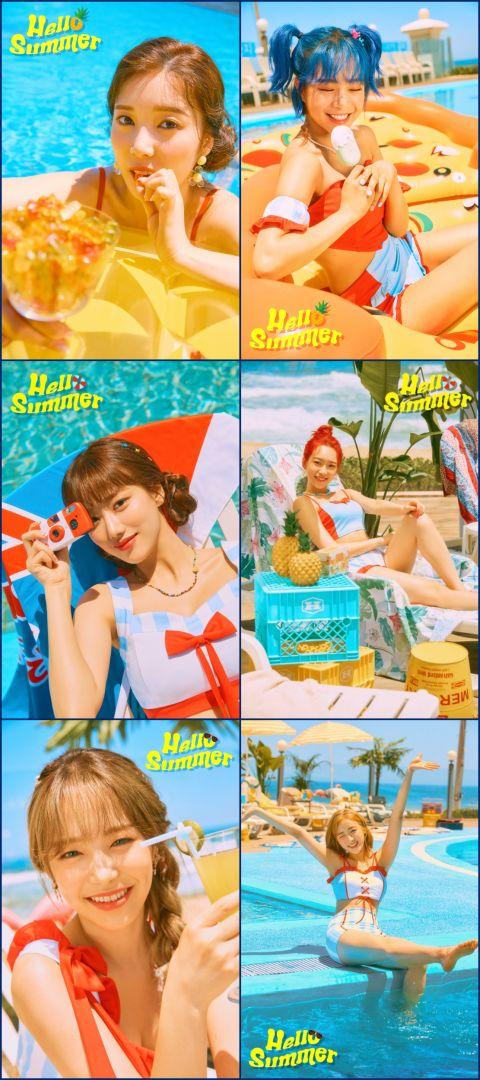 APRIL 释出团体概念照 准备以〈Hello Summer〉迎接清凉夏日!