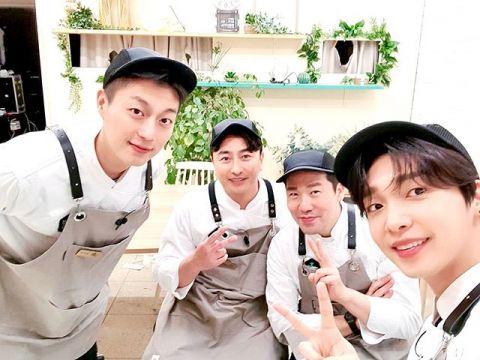 因为疫情大改版的《在当地吃得开吗》第4季开播,尹斗俊担任Pizza厨师!