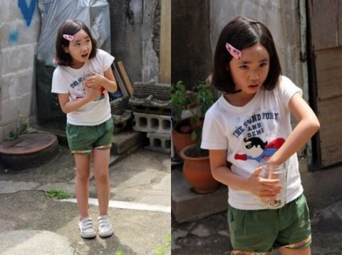她小时候演过宋江妹妹,和李钟硕也搭档过!长大后美到连李钟硕都认不出XD