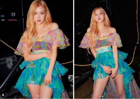 【撞衫不可怕系列】这条仙女裙太美了!Rose&李多熙&朴敏英都要穿它啦~