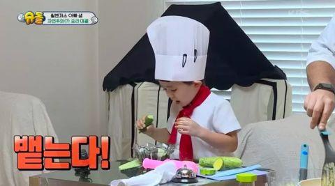 【影片】对妈妈千万要保密哦!《超人回来了》本特利的超浓口水味的黄瓜冷汤XD