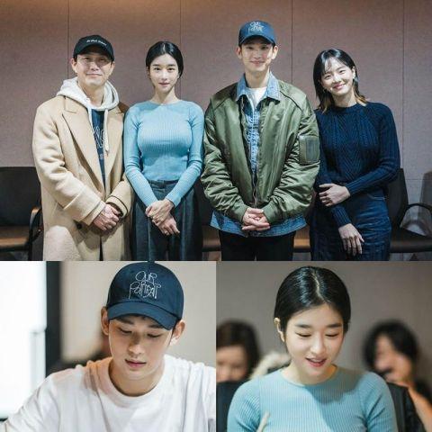 tvN 新剧《虽然是精神病但没关系》短预告公开!金秀贤、徐睿知人物形象首次曝光~