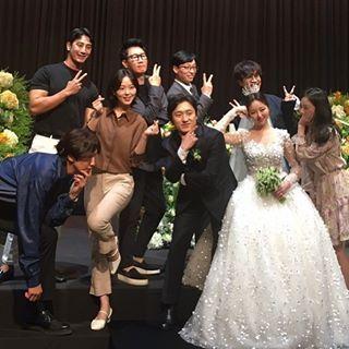 《RM》前PD结婚动员演艺圈人脉,李光洙HAHA围著新娘爆笑跳舞