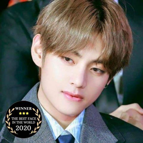 v团网_BTS防弹少年团V金泰亨被海外媒体评选为2020年「世界最美脸孔」一 ...
