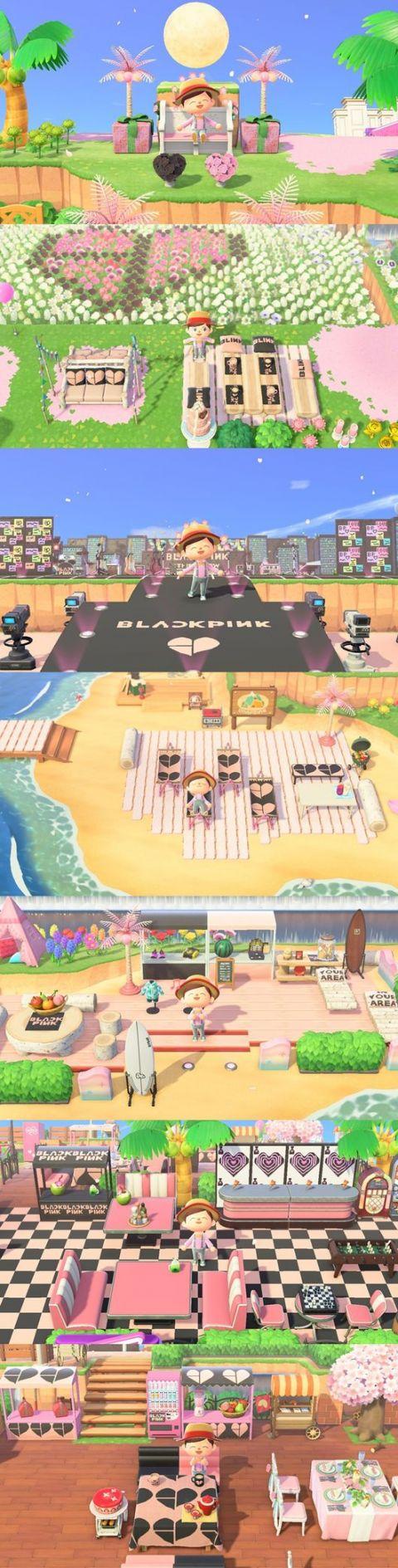为了纪念出道5周年!BLACKPINK 在《动物森友会》开设自己的岛屿「In Your Area」
