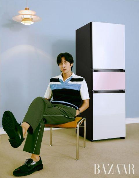 这真的是李光洙吗? 回归模特本职拍杂志写真,颠覆综艺搞笑形象