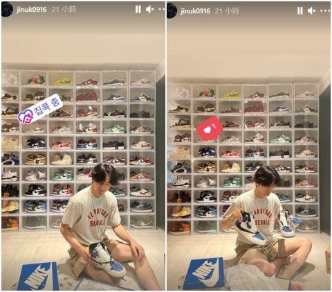 他们都拥有传说中的这双鞋中之王!朴叙俊、2PM俊昊与李阵郁一起晒出他们近期的爱鞋