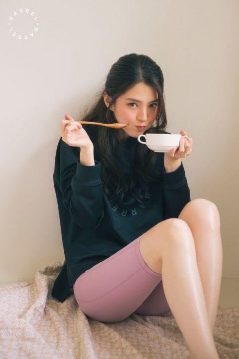 【多图】韩素希最新写真公开 这次是甜美运动风!