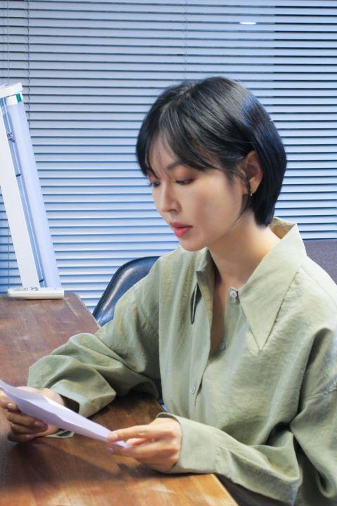 超敬业!《The Penthouse 3》金素妍为了完美投入「千瑞璡」的角色,剪掉从第一季开始留的长发!