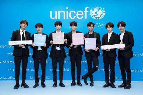 BTS防弹少年团在全球倡导终止暴力、爱自己 《Love Yourself》活动在 UNICEF 获奖!