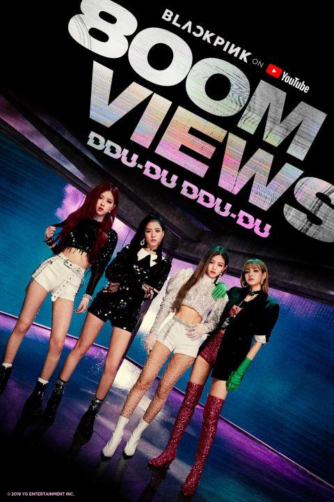 BLACKPINK 刷新韩团纪录〈DDU-DU DDU-DU〉破八亿 - KSD 韩星网 -116573-733611