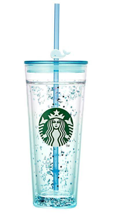 韩国Starbucks的夏日风情...《夏威夷海洋风》杯款上市!
