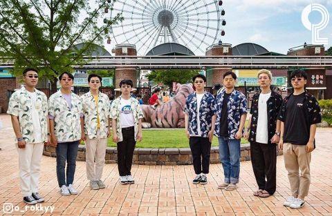 团体照人太多怎么拍? 8个大男孩教你拍出超有梗的出游照 - KSD 韩星网 -117649-745124