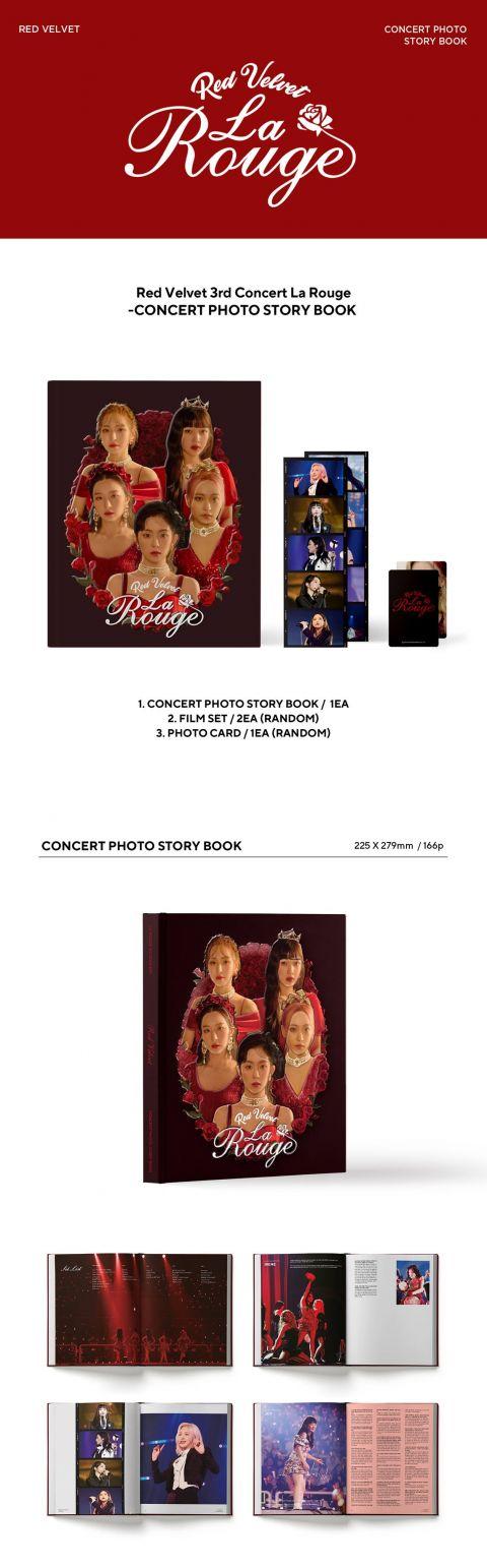 重温 Red Velvet 演唱会的点点滴滴 《La Rouge》画报集收录成员亲笔信!