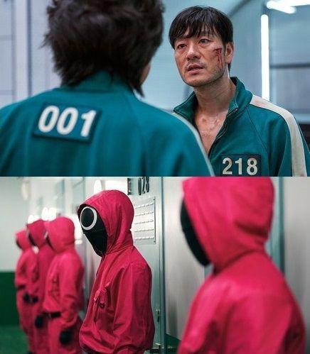 韩国超人气生存Game电视剧《鱿鱼游戏》连影帝李政宰也换上绿色运动服展开大逃亡!