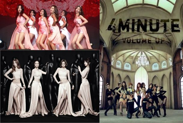 SISTAR / Girl's Day / 4minute