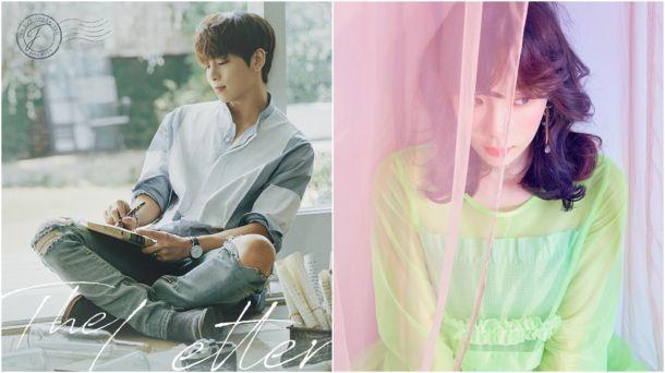 太妍(右)為鐘鉉(左)新專輯主打歌獻聲