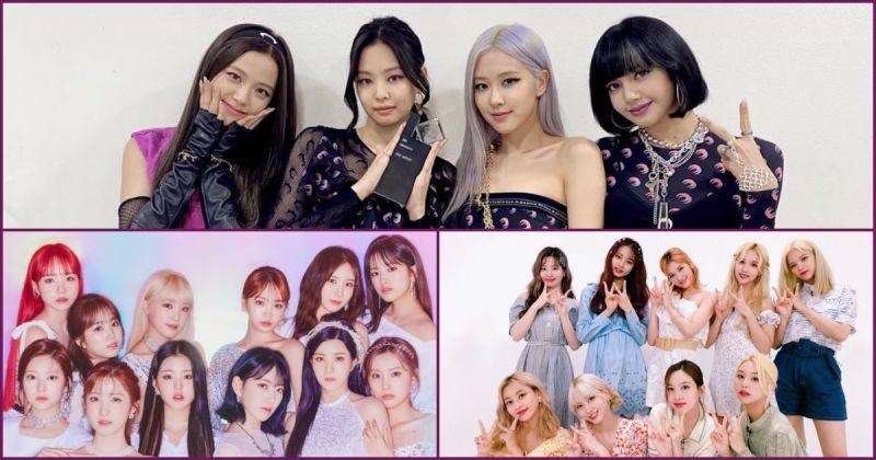 【女团品牌评价】BLACKPINK 重返宝座 三大关键字是「YouTube」、「韩服」和「告示牌」!