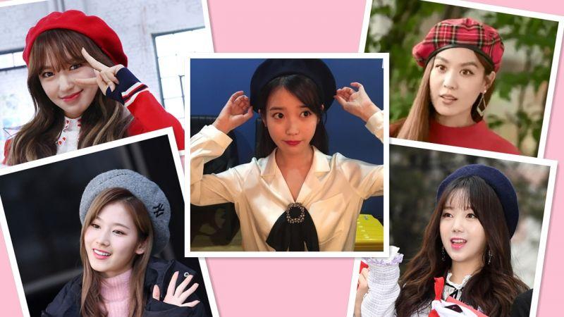 今年冬季女星们又是怎么搭配贝雷帽?经典永不过时的潮流单品!