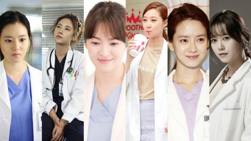 那些穿過醫生袍的女演員們