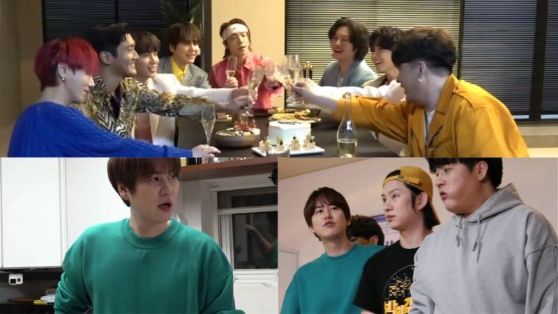 Super Junior 全員出演《全知干預視角》預告!他們一起回宿舍,讓主人圭賢狂喊:「吵死了!都出去!」