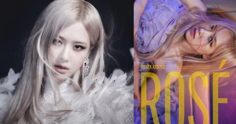 Rosé 為〈R〉參與作詞 預購量已創韓個人女歌手新紀錄!