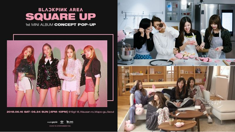 BLACKPINK将开设新专辑概念Pop Up!地点就在团综的粉红小屋「BLACKPINK HOUSE」!