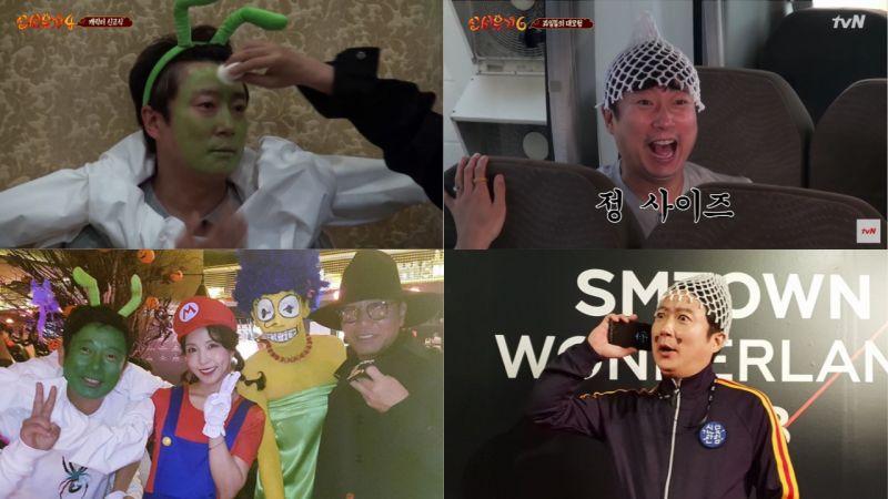 《新西游记》宣传大使啊!李寿根连续两年在SM万圣节派对上,装扮了他在《新西游记》的角色!