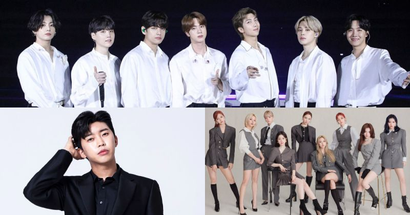 【歌手品牌評價】BTS防彈少年團奪冠 女團+個人男歌手大放異彩!