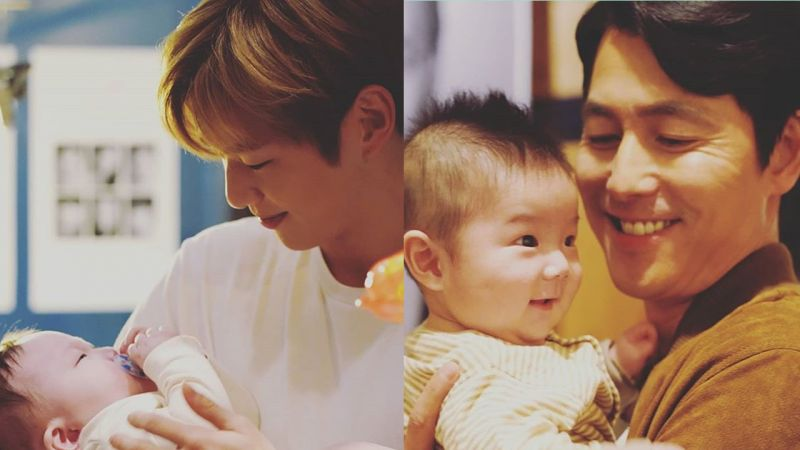 Wanna One姜丹尼爾、鄭雨盛和天使...一起拍公益活動寫真