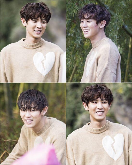 《Missing 9》EXO灿烈拍摄现场公开 戏里戏外都是阳光维他命