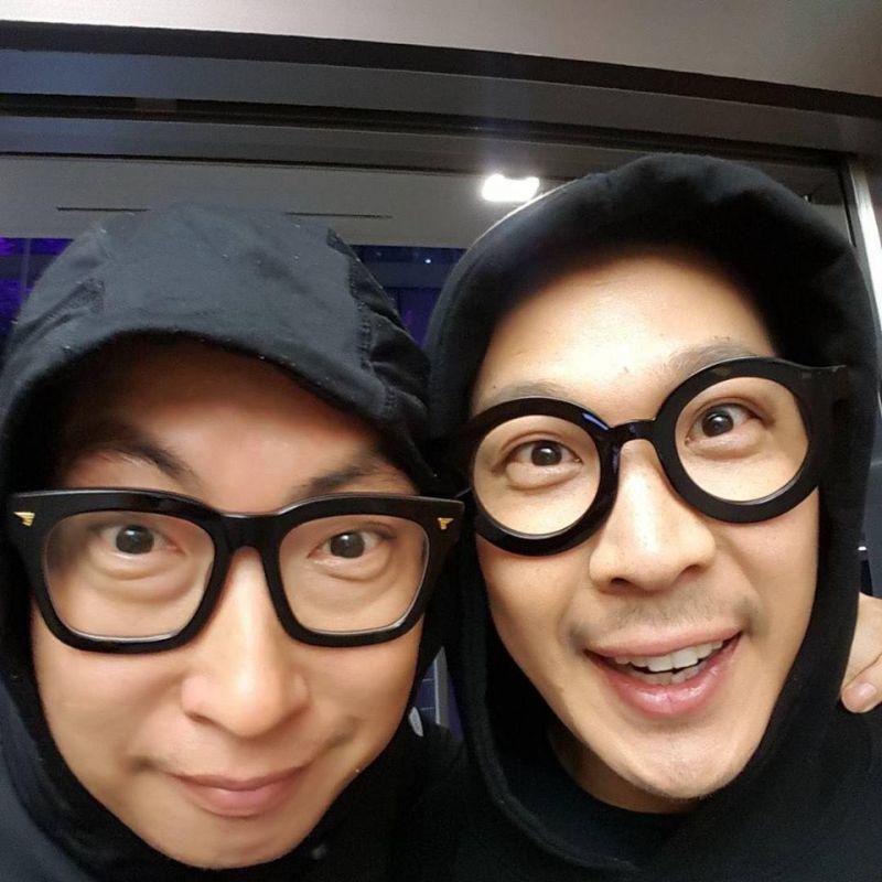 朴明洙與哈哈激似的兄弟臉