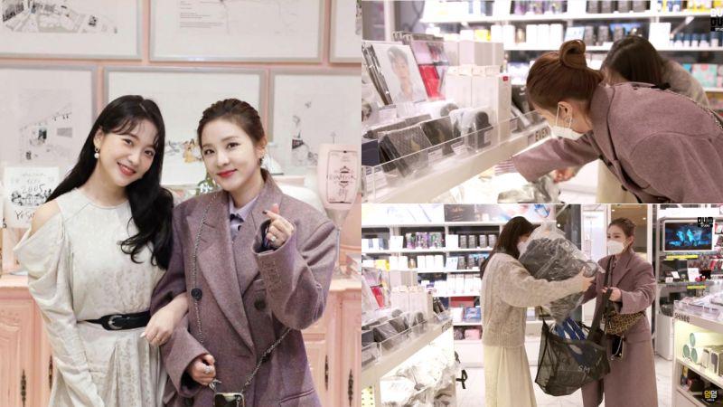 YG的Dara因拍攝《Yeri的房間》第一次到SM大樓!馬上被周邊商店吸引,還幫海外朋友們代購