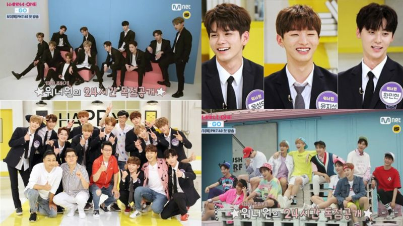 今天是WANNA ONE DAY!团综《Wanna One GO》&《HT3》二连发