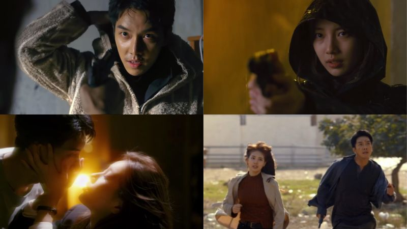 李昇基、裴秀智《VAGABOND》首版預告公開!這根本是電影預告,兩人都超級帥氣!