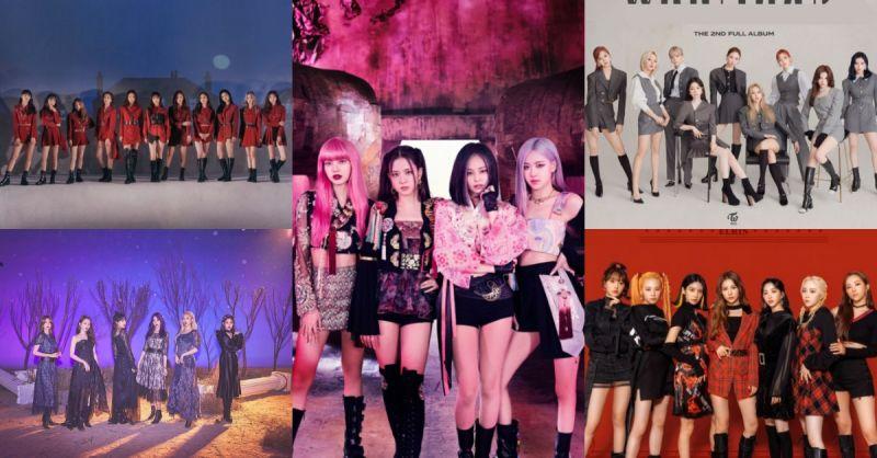 從BLACKPINK到TWICE!2020年女團歌曲TOP10,每首聽過都印象深刻!