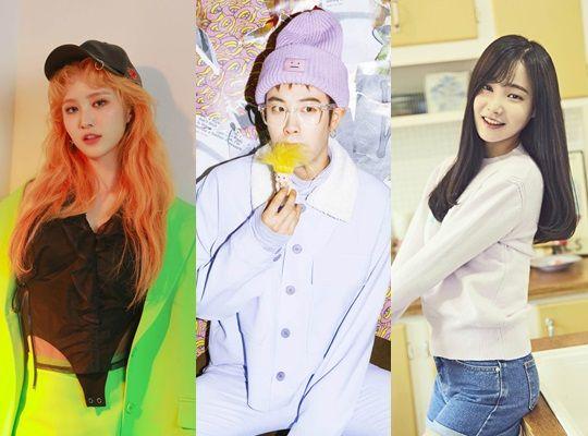 《The Show 5》新主持人出炉!EXID 静花+Block B P.O.+MOMOLAND 妍雨
