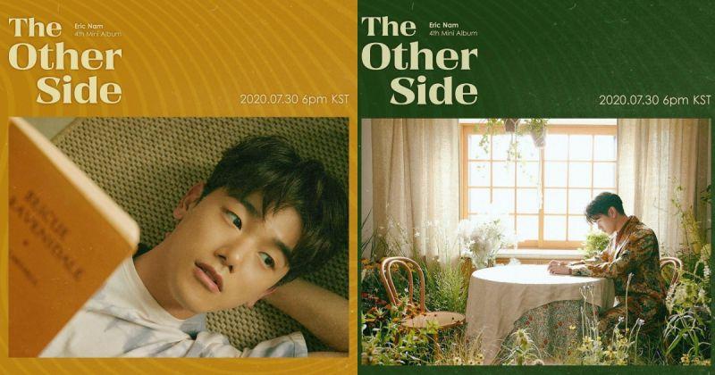 Eric Nam 将携迷你四辑〈The Other Side〉回归 为多首歌曲作词、作曲!