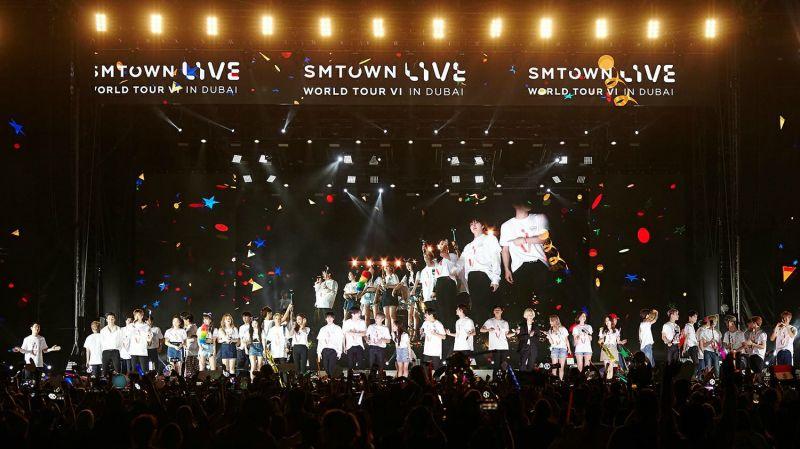 SM 家族飯不用遠道追去杜拜 《SMTOWN LIVE》7 月前進大阪連唱三天!