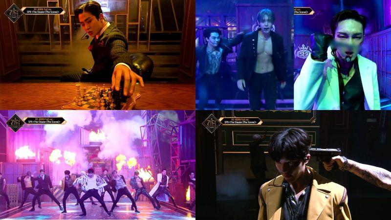 男团竞演节目《Kingdom》把动作电影搬上舞台的SF9表演令全场超惊艳!